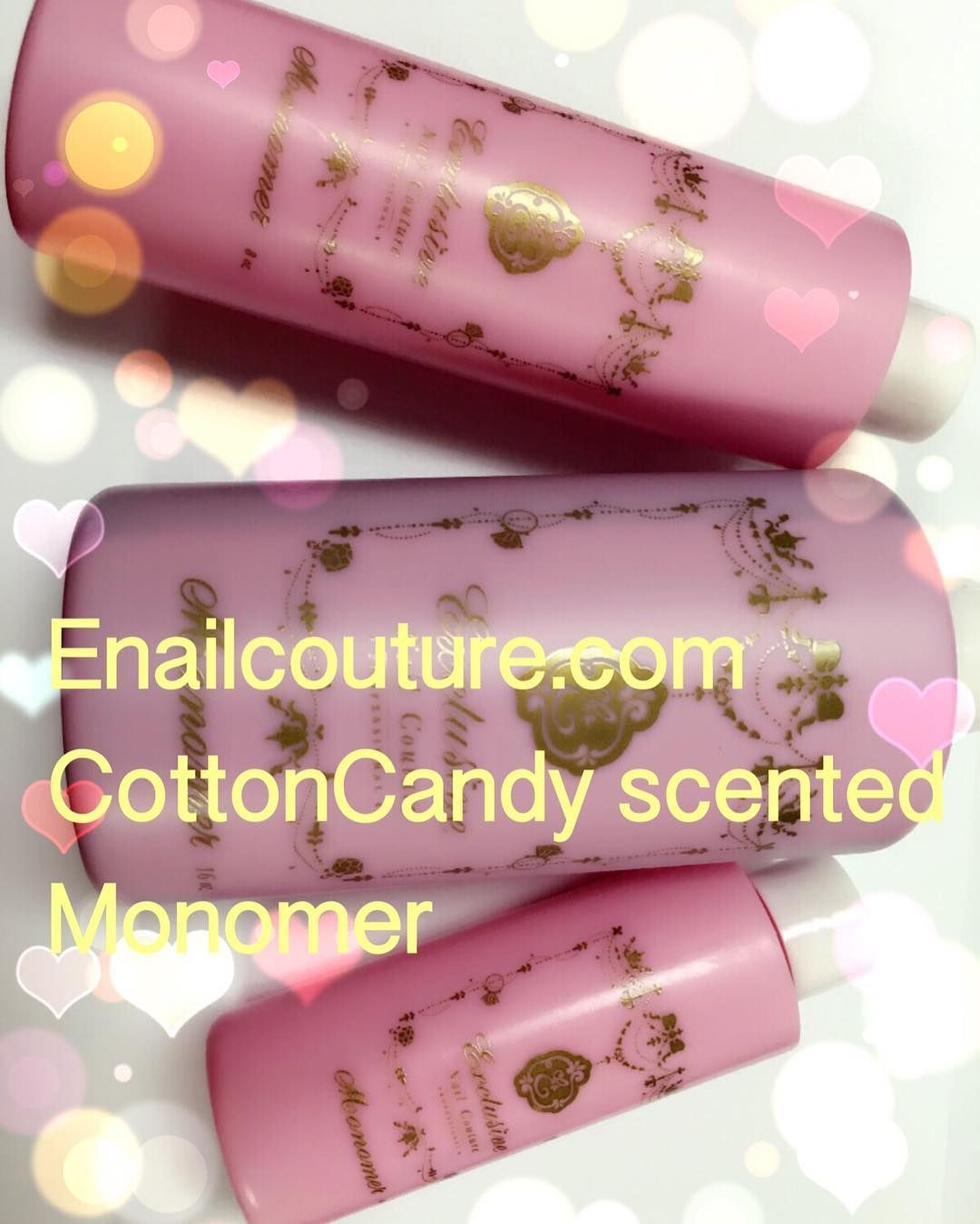 Enailcouture.com new cotton candy scented monomer ! On sale for a limited time ! $24.99 for 16oz! Free shipping in the USA on orders over 99! Enailcouture.com cotton candy scented monomer is flying of the shelf !!! Enailcouture.com gel polish in 126 colors by kingofnail