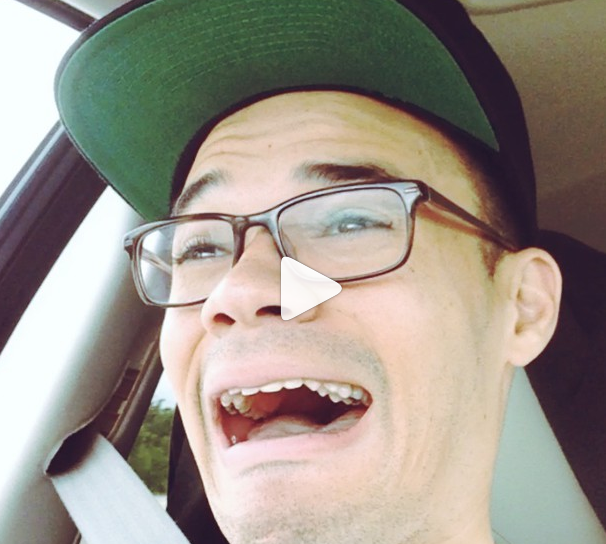 Tauren Wells of Royal Tailor rocking out to KJ-52's music on #Air1. SO MUCH AWESOME.