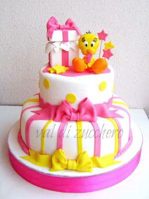 Strange 73 Best Sylvester Tweety Cakes Images Tweety Cake Tweety Cake Funny Birthday Cards Online Kookostrdamsfinfo