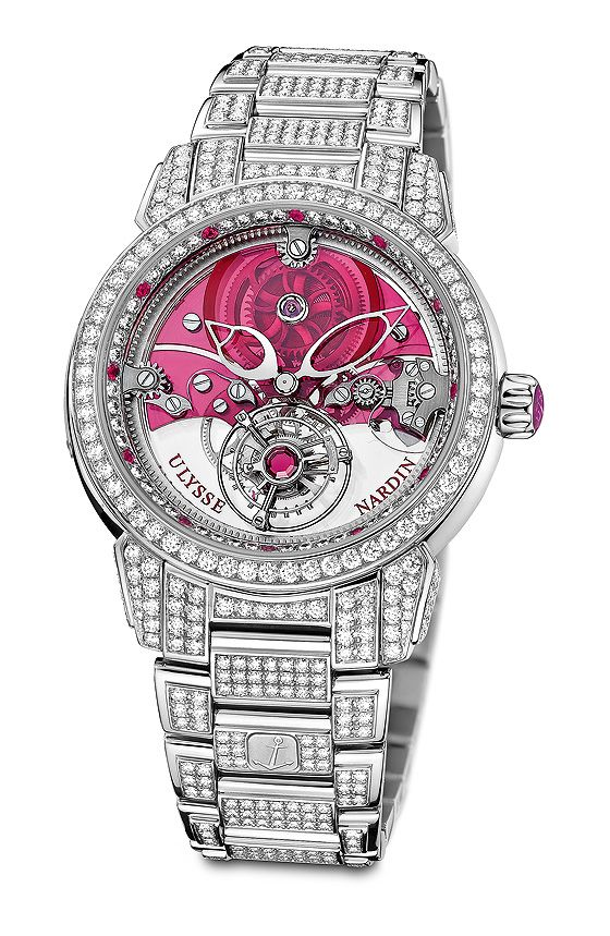 Royal Ruby Tourbillon, a 99-piece limited edition that ...