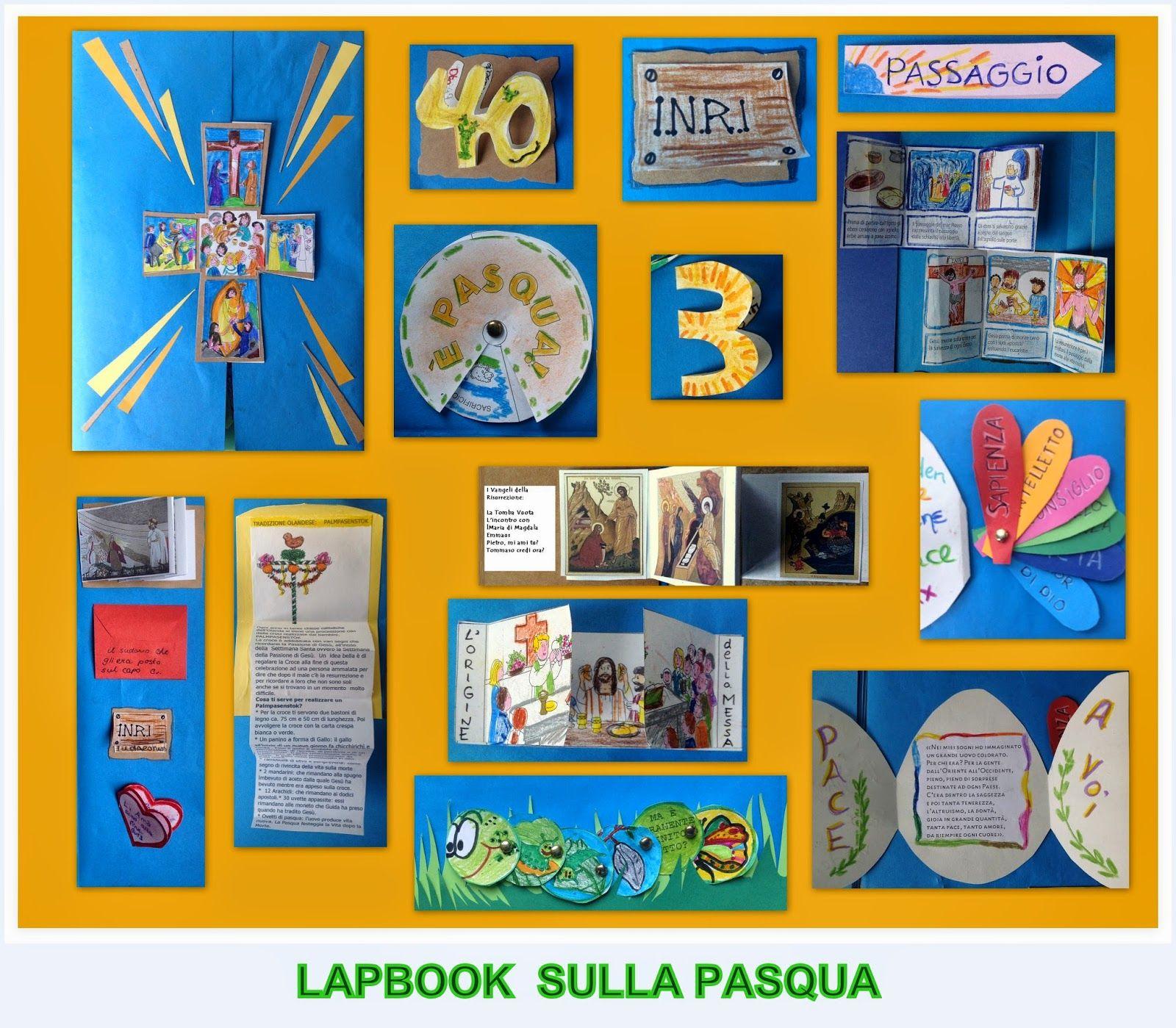 Lapbook Pasqua Maestrastrid Cuaresma Y Semana Santa Pinterest