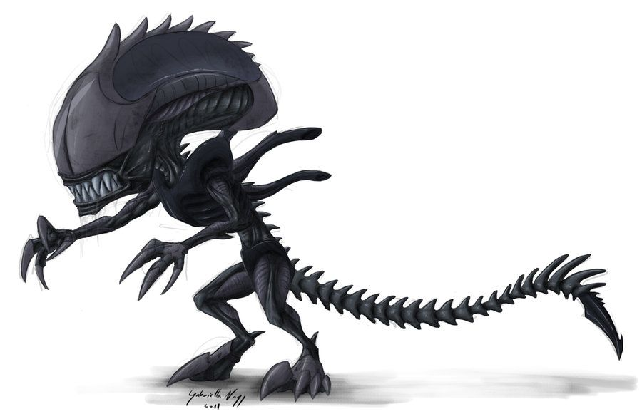 Big-headed ant    err alien  (aka Iskro-morph) | Xenomorph