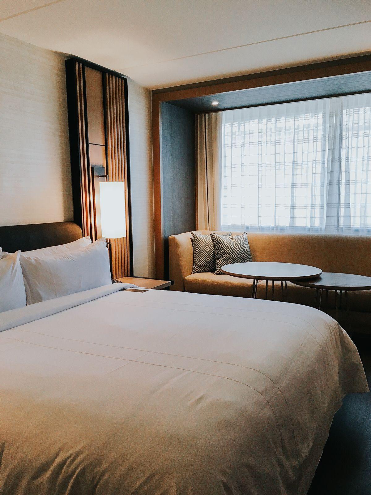 Marriott Hotel Bedroom