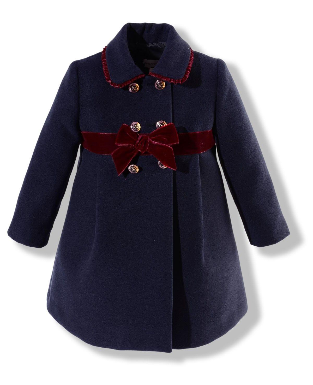75360f5faf87 Abrigo de niña azul marino   Kids fashion (Boys)(Toddler boys ...