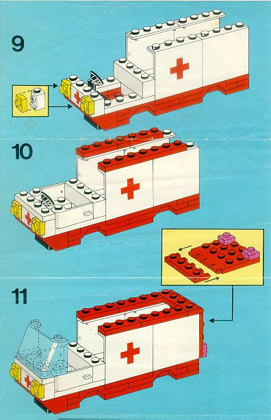 Rescue Ambulance Lego 6688 Lego Instructions Pinterest