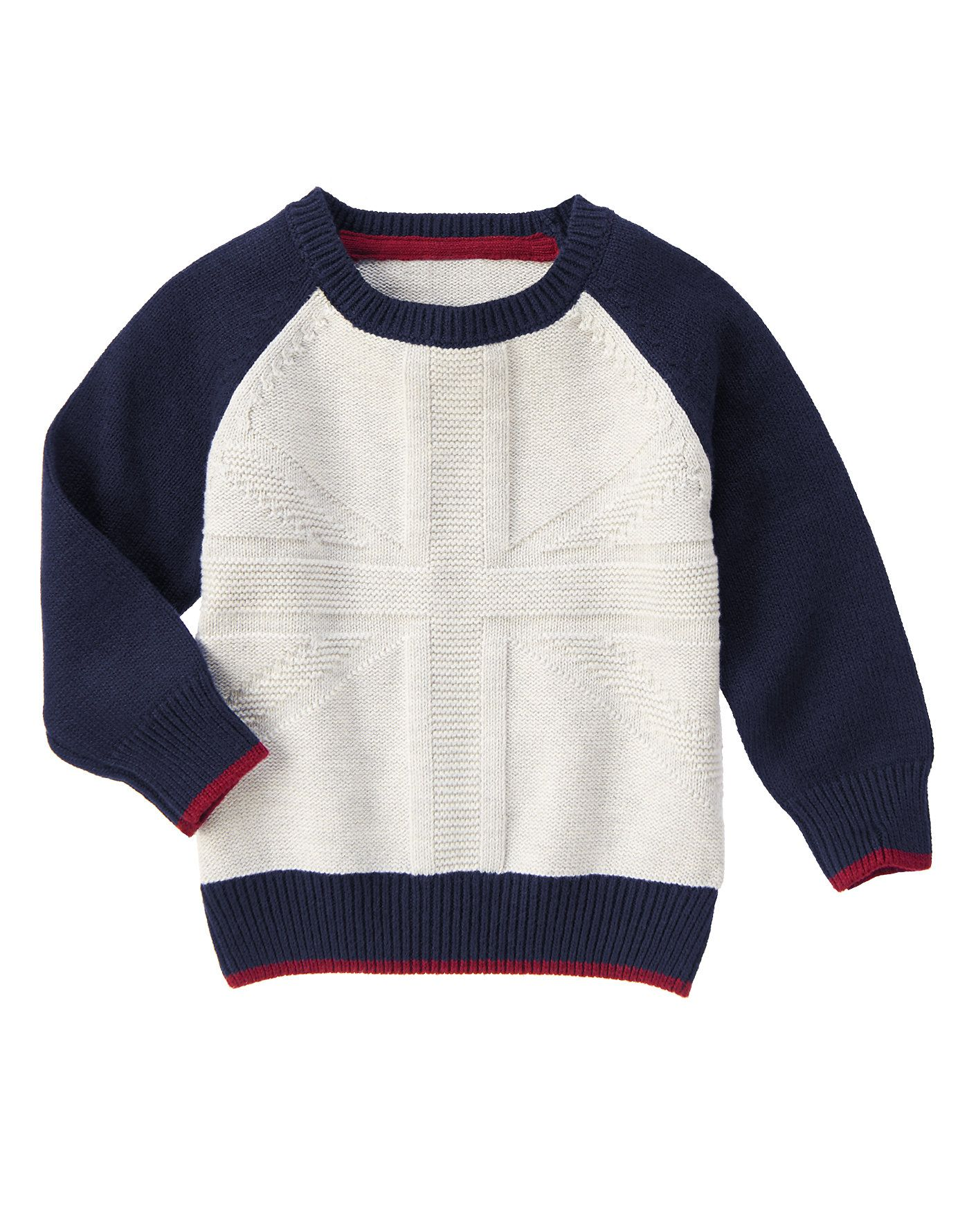 Union Jack Sweater At Gymboree