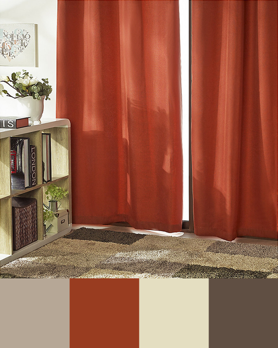 Atrévete! elige colores para tus cortinas que definan tu estilo