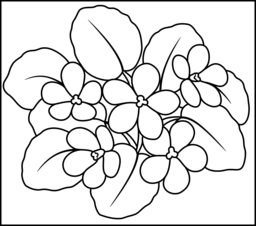Flowers Coloring Pages Coloring Pages Colorful Drawings Flower Crafts Preschool