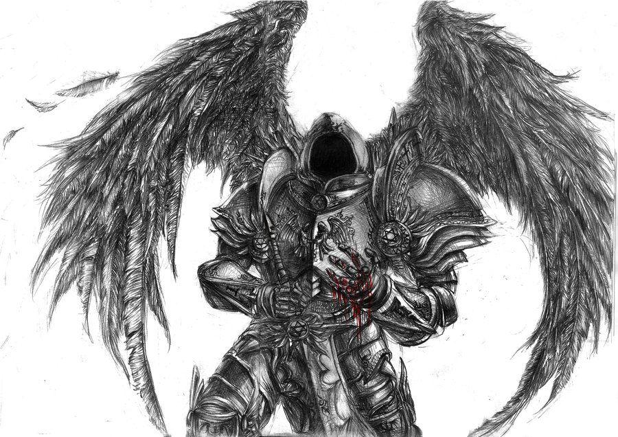 Tyrael fallen angel by devmarineiantart on deviantart tyrael fallen angel by devmarineiantart on deviantart altavistaventures Images