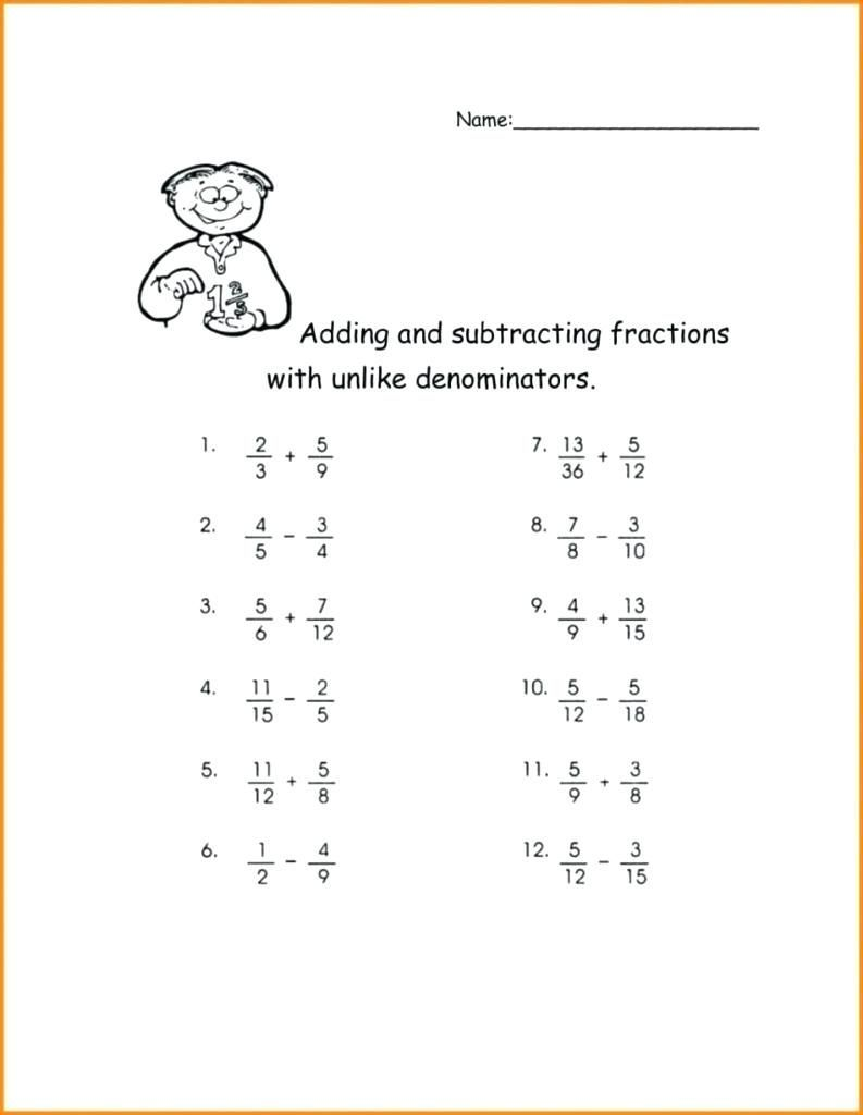 Add And Subtract Fractions Worksheet Printable Worksheets Are A Precious Classroo In 2021 Adding And Subtracting Fractions Subtracting Fractions Fractions Worksheets Adding and subtracting like fractions