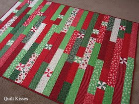 Quilt Kisses: Christmas Week ~ Day 4 #jellyrollquilts