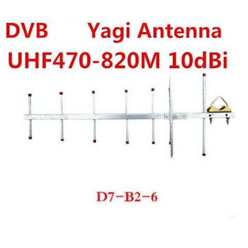 Oshinvoy Dtmb Outdoor Yagi Antenna 7elements 10dbi Uhf 470 820m Dvb Roof Yagi Antenna With 10m Cable Review Communication Equipment Cable