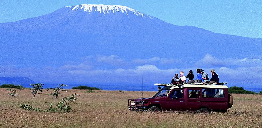 We use Toyota Landcruiser 4x4 with window seats only with