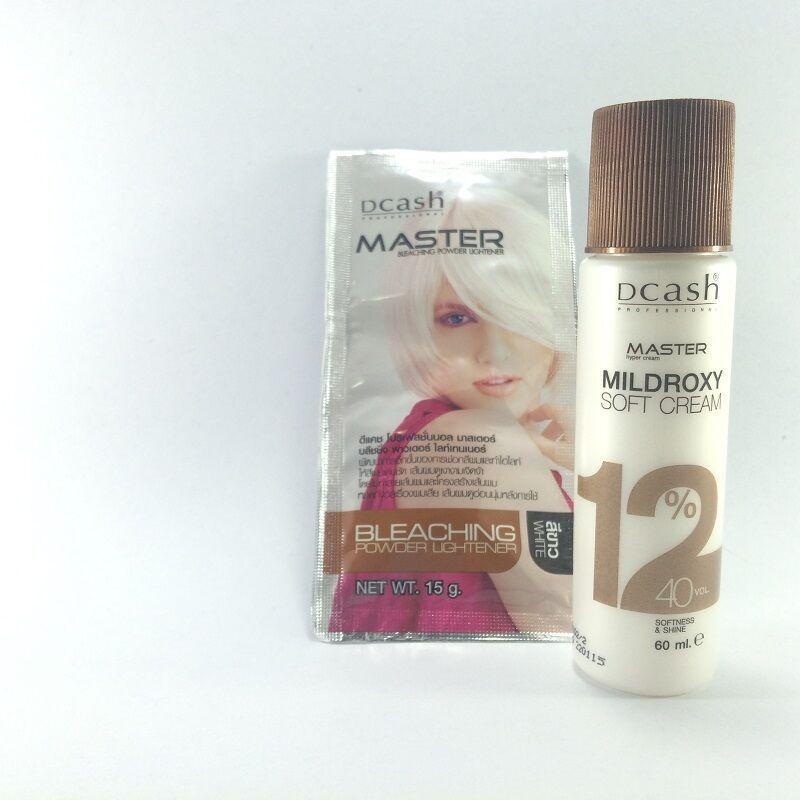 Lightener Lightening White Hair Bleaching Dye Color