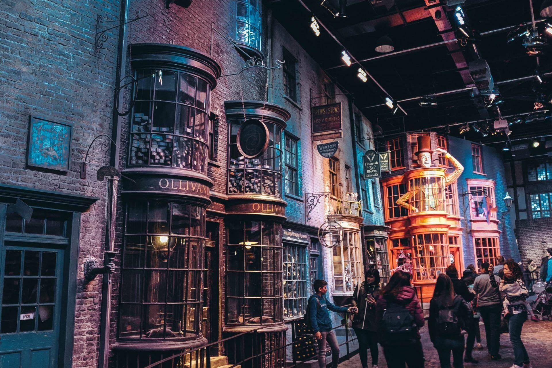 Die Winkelgasse In Den Warner Bros Studios In London Winkelgasse Hogwarts London