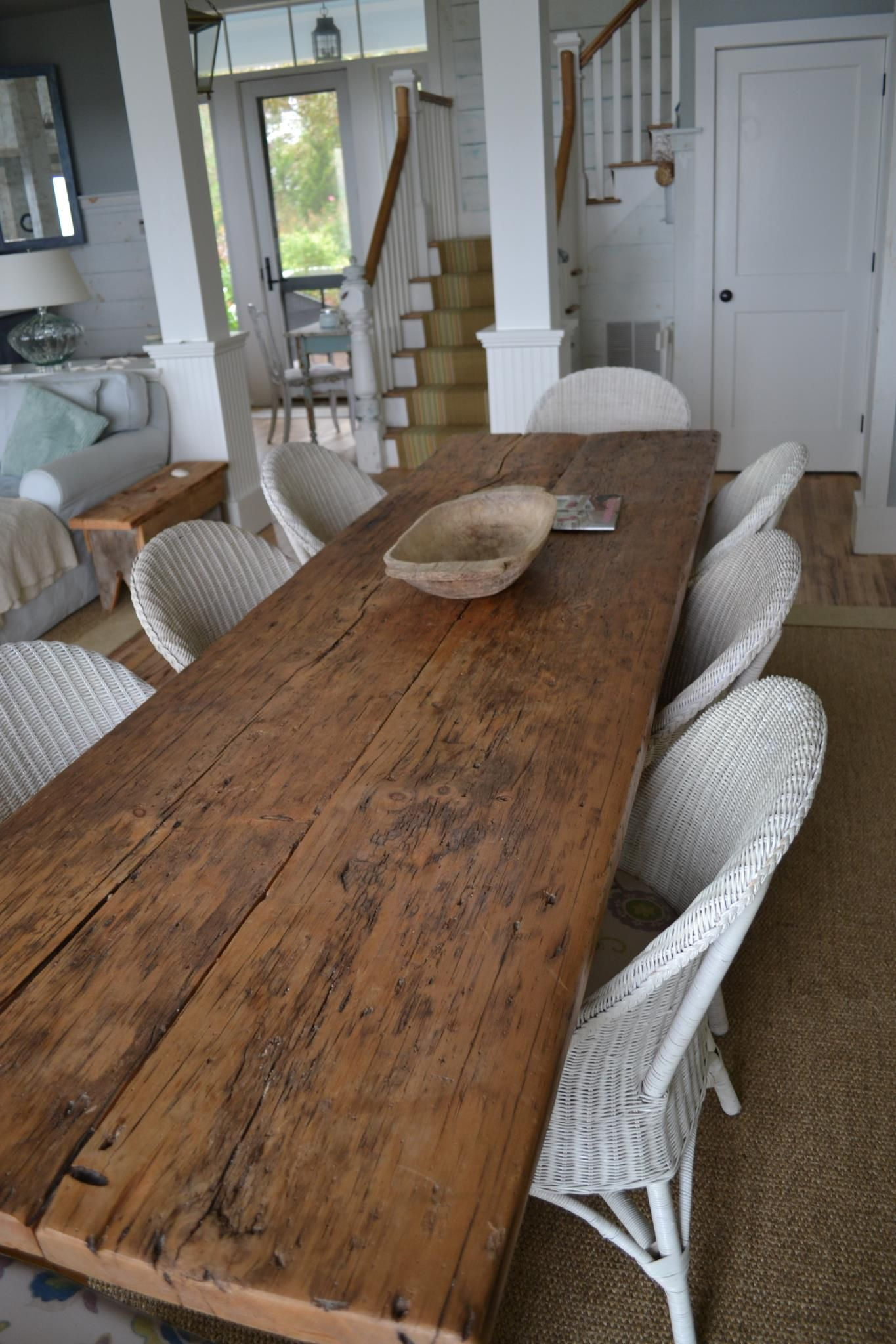 Rustic farm dining tables - Http Media Cache Ec4 Pinimg Com Originals E4 2f 4d E42f4dd9dd7d3c17d4adee4f268e950e Jpg Kitchen Dining Pinterest Wide Plank Farming And Tables