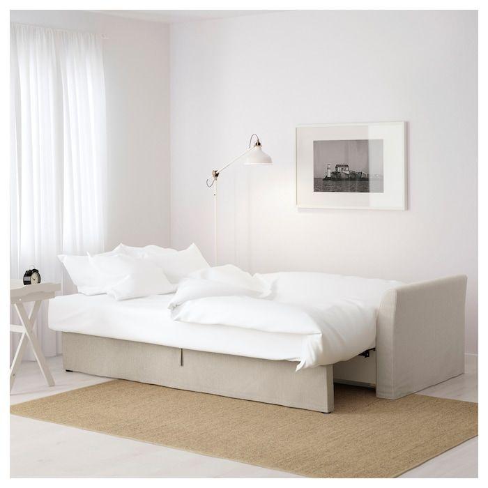 Sofa Bed Holmsund Nordvalla Beige In 2019 Yoga Room Sofa