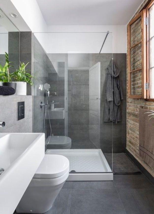 Baño abierto Baños modernos Pinterest Baño abierto, Baño y