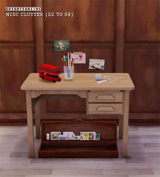 A Little Corner of Sims Retro desk, Sims 4 cc furniture