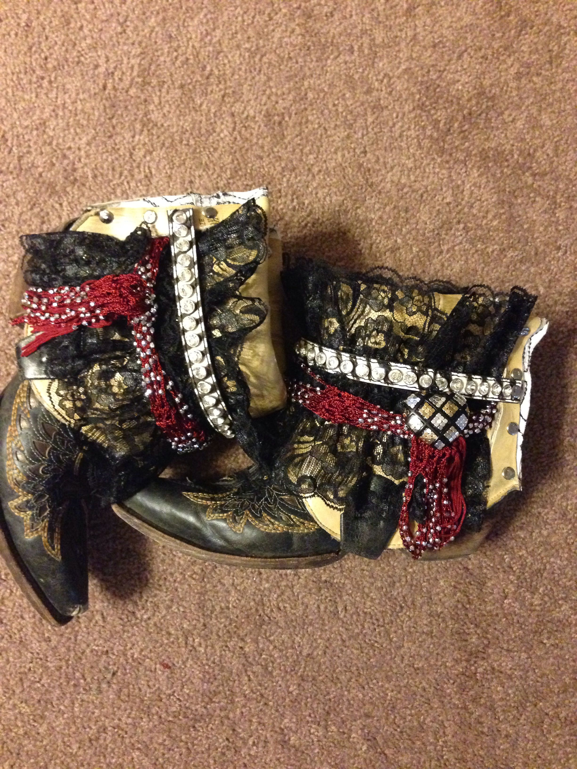 Masyn upcycled boots