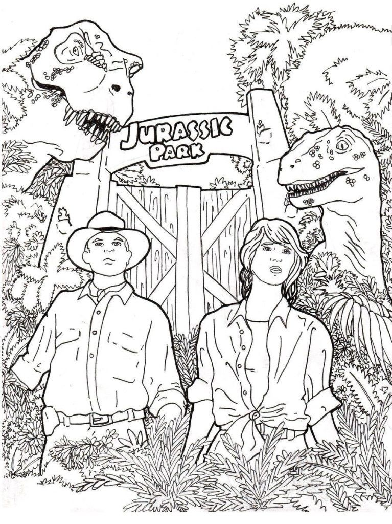 Jurassic World Coloring Pages - Best Coloring Pages For Kids Dinosaur  Coloring Pages, Cartoon Coloring Pages, Coloring Pages