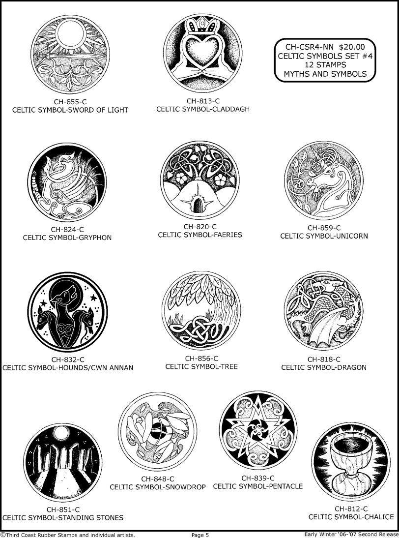Irish Symbols And Meanings Chart | www.pixshark.com ...