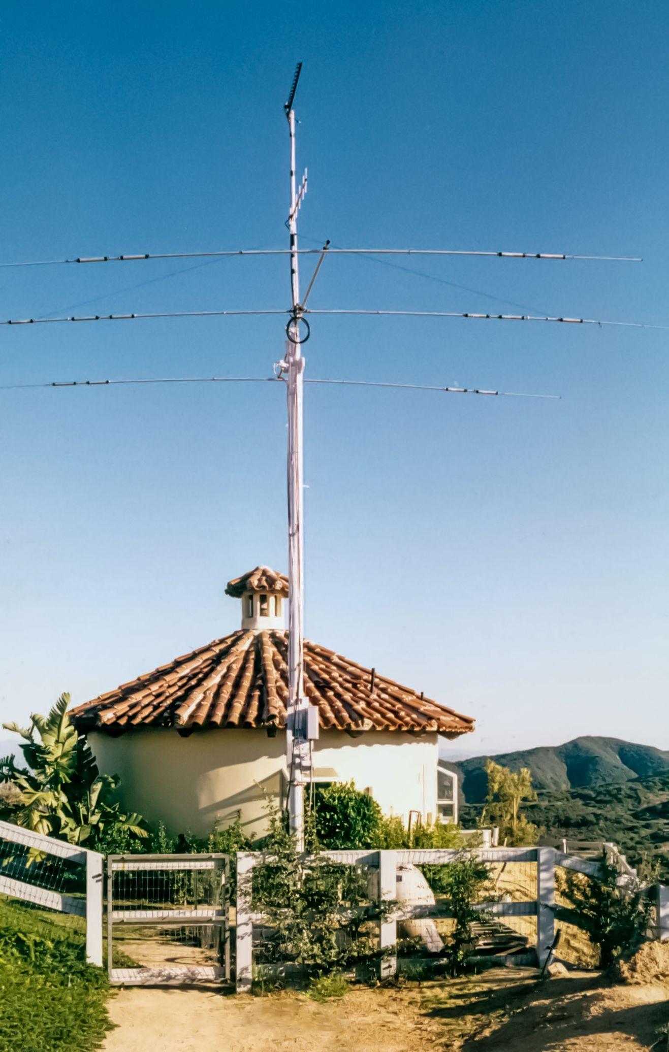 Ham Radio Mast Antenna Towers - Year of Clean Water