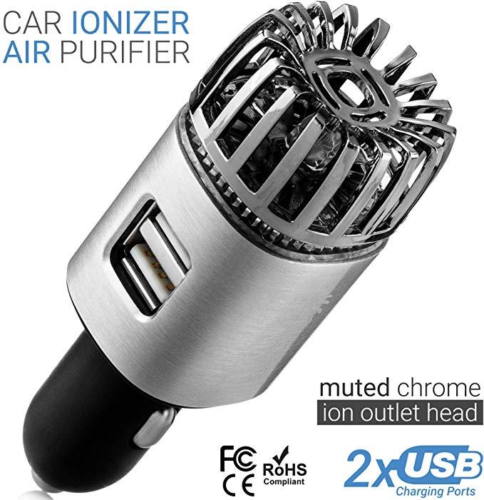 AmazonSmile Car Air Purifier Ionizer 12V Plugin Ionic