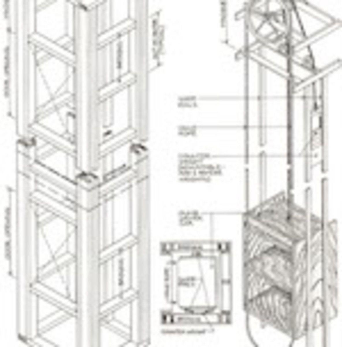 Manual Dumbwaiters Row House Restoration Peoria