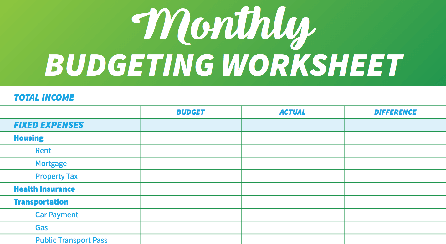 14 Completely Free Easy To Use Budget Templates And Spreadsheets Budget Planner Template Weekly Budget Template Monthly Budget Template