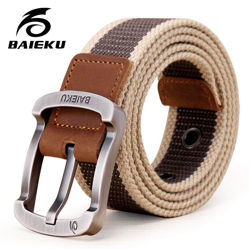 2017 Cintura Militare Cintura Tattico Outdoor Uomini e Donne di Alta Cinghie di qualità Per I Jeans Maschio Cinghie di Tela 6 Colori di grandi dimensioni formato