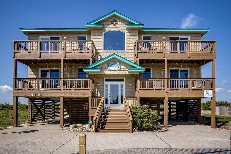 Rent this 6 Bedroom House Rental in Nags Head with Grill and Hot Tub