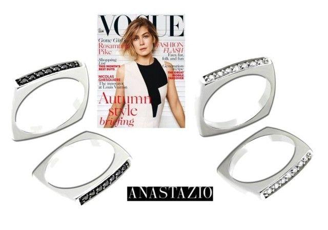 """""""Anastazio-rings"""" by anastazio-kotsopoulos ❤ liked on Polyvore featuring Anastazio"""