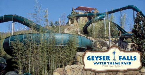 Geyser Falls Water Theme Park Choctaw MS I just went yesterday and