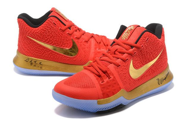 reputable site 973a5 89265 ... canada 2017 2018 newest and cheapest hyper crimson hot red gold kyrie 3  iii 7ec2f 15499 ...