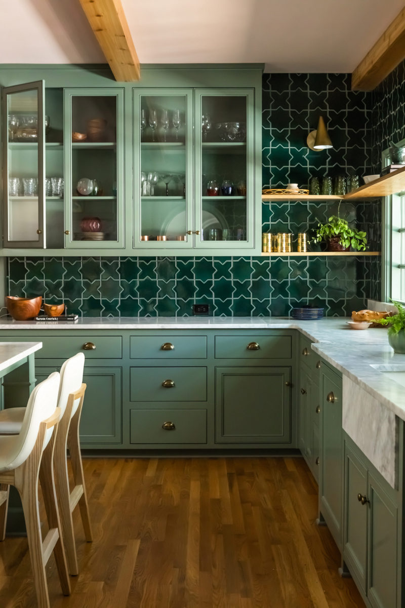 Star and Cross Kitchen by Rebecca Gibbs Design   Fireclay Tile ...