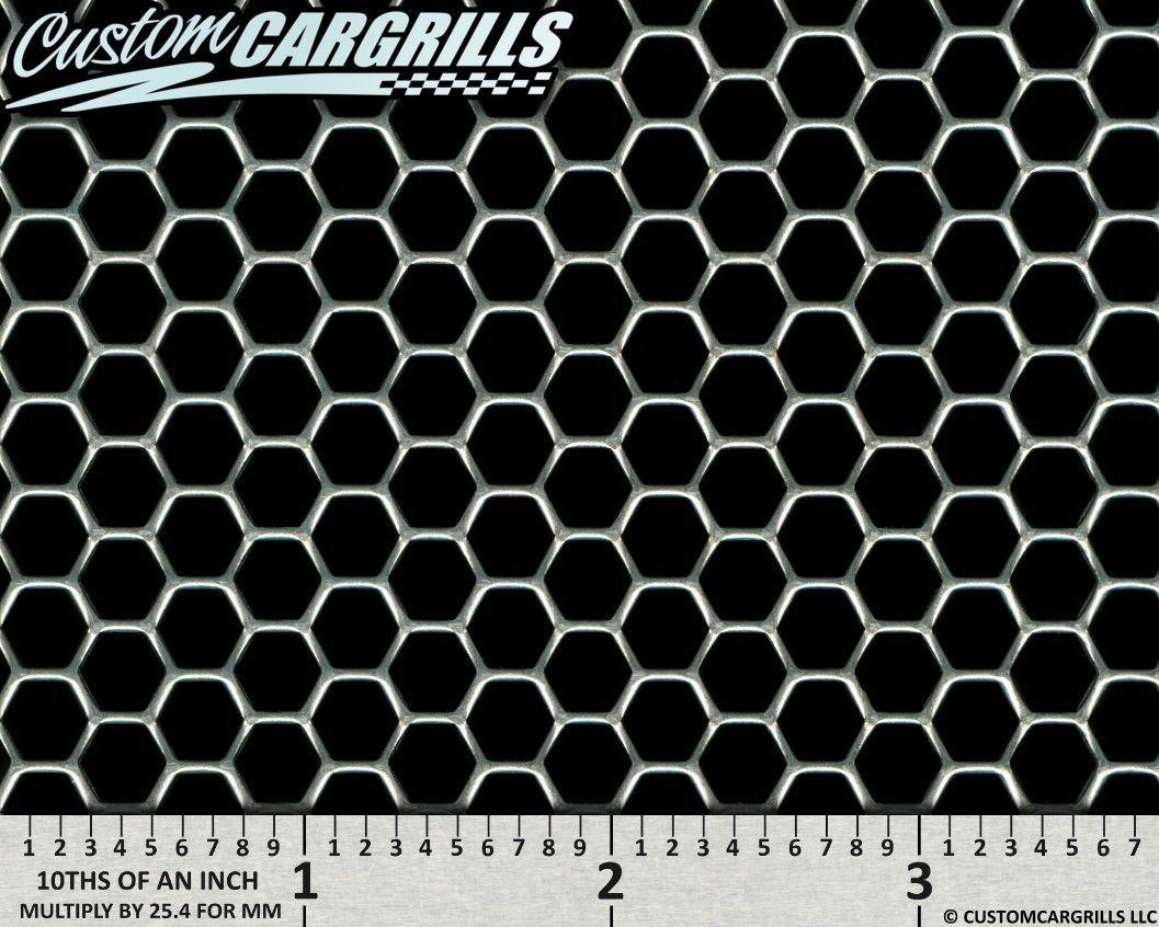 Perforated Hexagon Aluminum Grill Mesh Sheets By Customcargrills Classic Ford Trucks Ford Trucks Diesel Trucks Ford