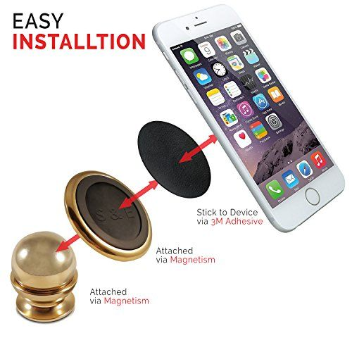 Magnetic Cell Phone Mount >> Smart Easy Magnetic Cell Phone Holder Cell Phone Holder