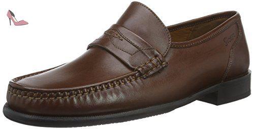 Sioux Gilio, Mocassins (Loafers) Homme - Marron - Marron (Cognac), 44.5