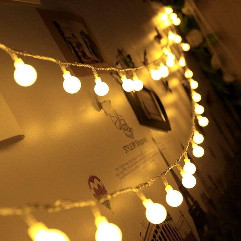 6ft//2M LED Lantern Shape DIY Decor Vovelty String Fairy Light Night Light