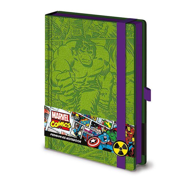 marvel hulk retro premium  marvel hulk notizbuch
