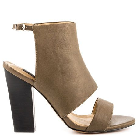 Steven by Steve Madden Citty - Olive Leather