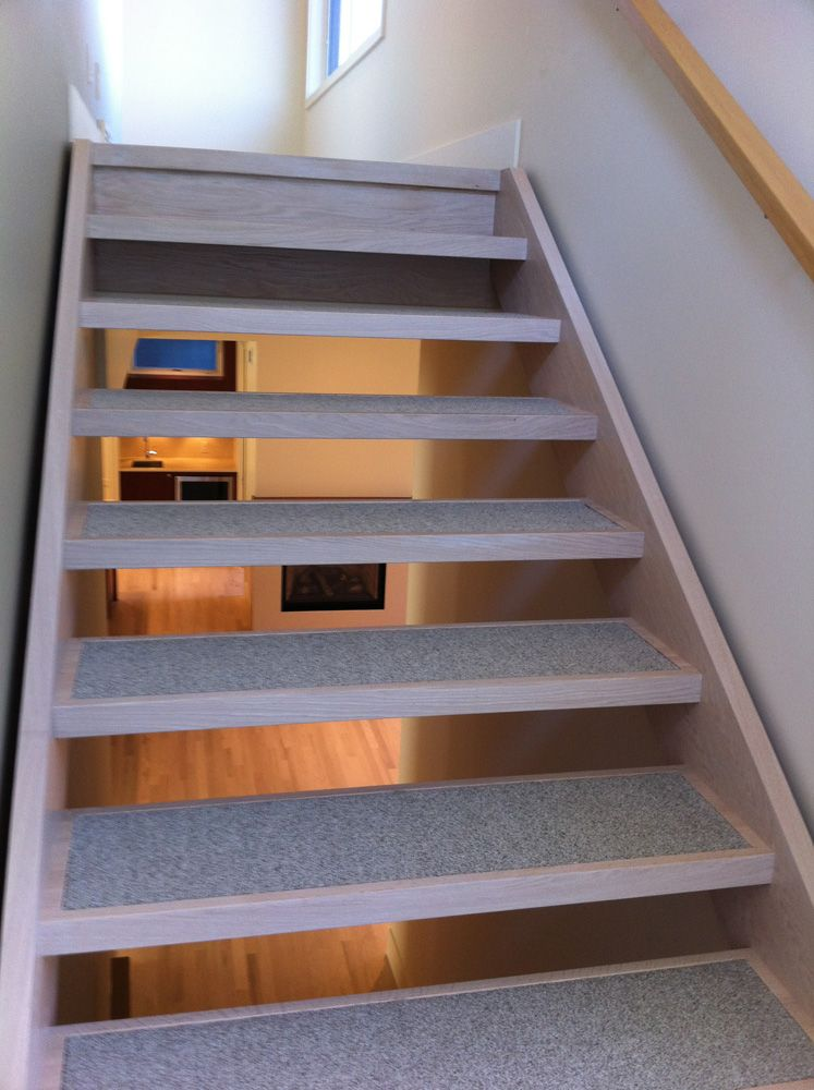 Best On Location – How To Detail An Open Riser Stair Slow Home Studio In 2019 Carpet Stairs Open 400 x 300