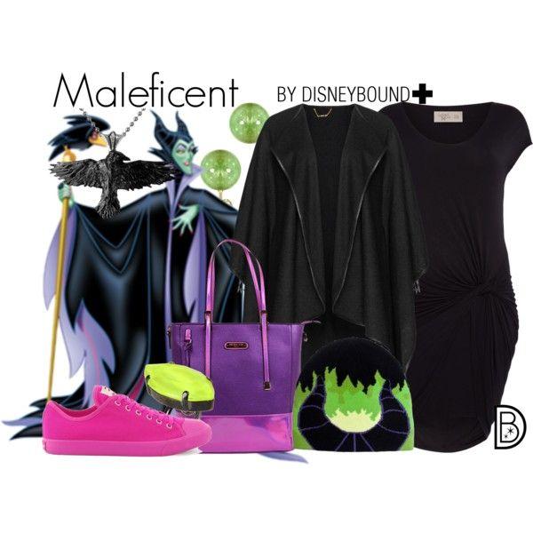 Disney Bound Maleficent Sleeping Beauty In 2019 Disney