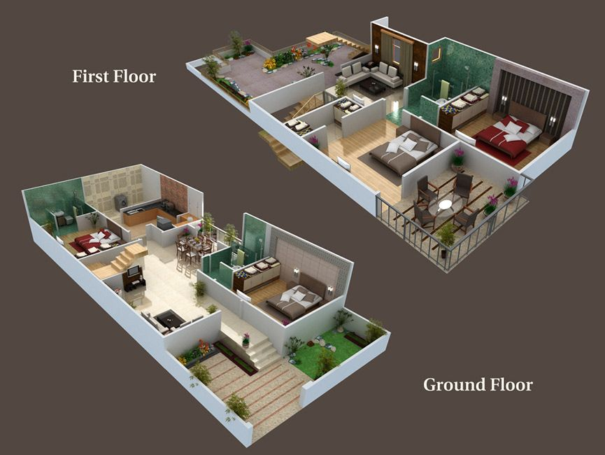 Amazing 25 X 50 3D House Plans With Scintillating 25 60 House West Beutiful Home Inspiration Cosmmahrainfo
