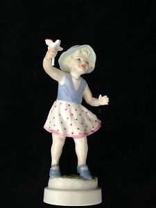 Details About Royal Worcester Sunday S Child Figurine 3518 By