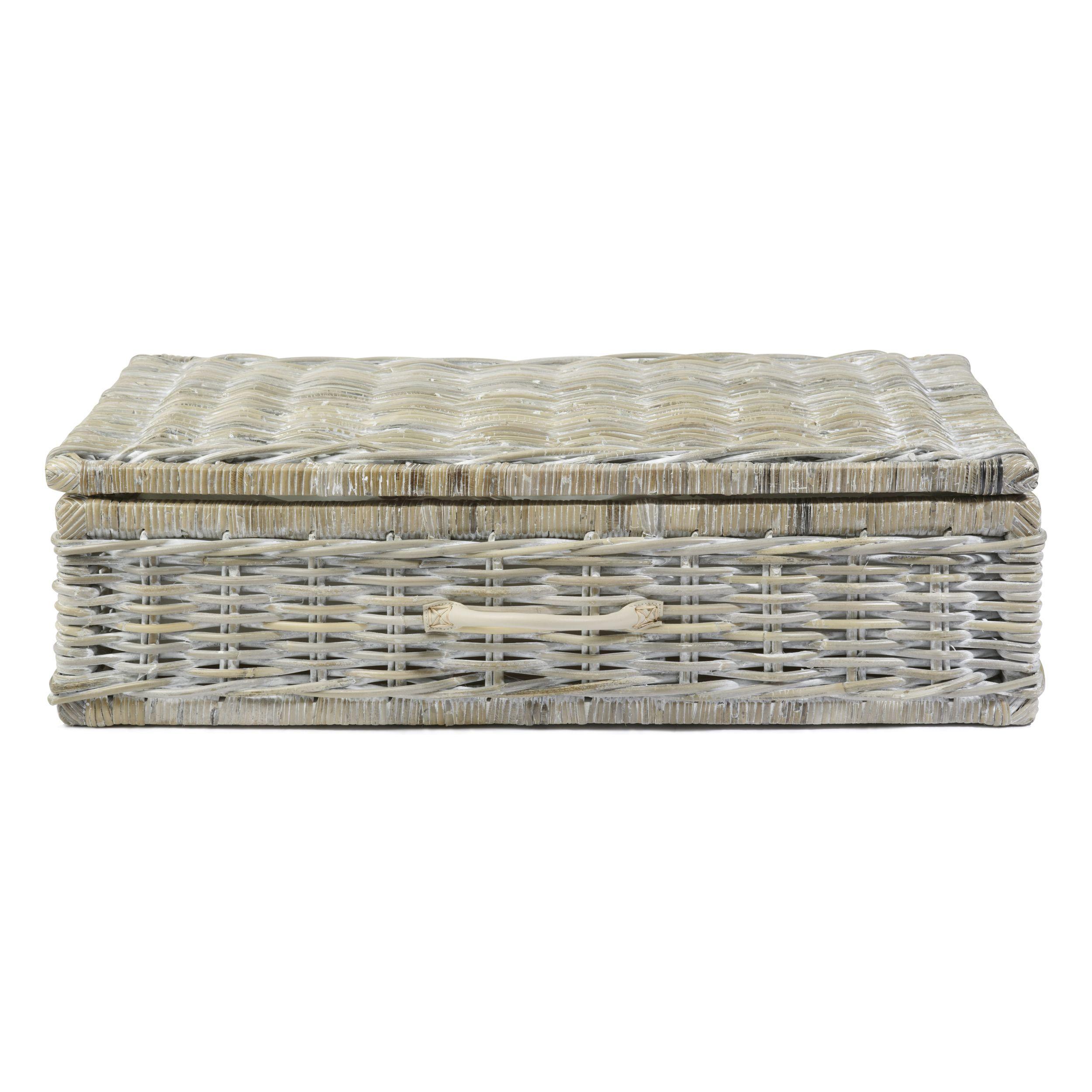 Home underbed storage baskets wicker underbed storage basket - Kubu Underbed Storage Basket