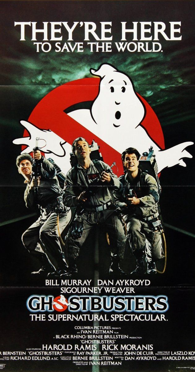 Ghostbusters 1984 Ghostbusters Movie Ghostbusters Ghostbusters Poster