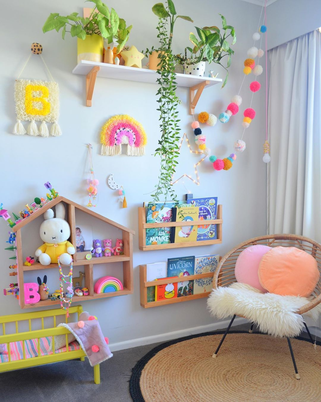 "Kids room & home decor on Instagram: ""Missing Billies old room today! . . . . . #kidsrooms #kidsroomdecor #kidsroominspo #girlsroom #kidsroom #kidsdecor #kidsinterior…"""