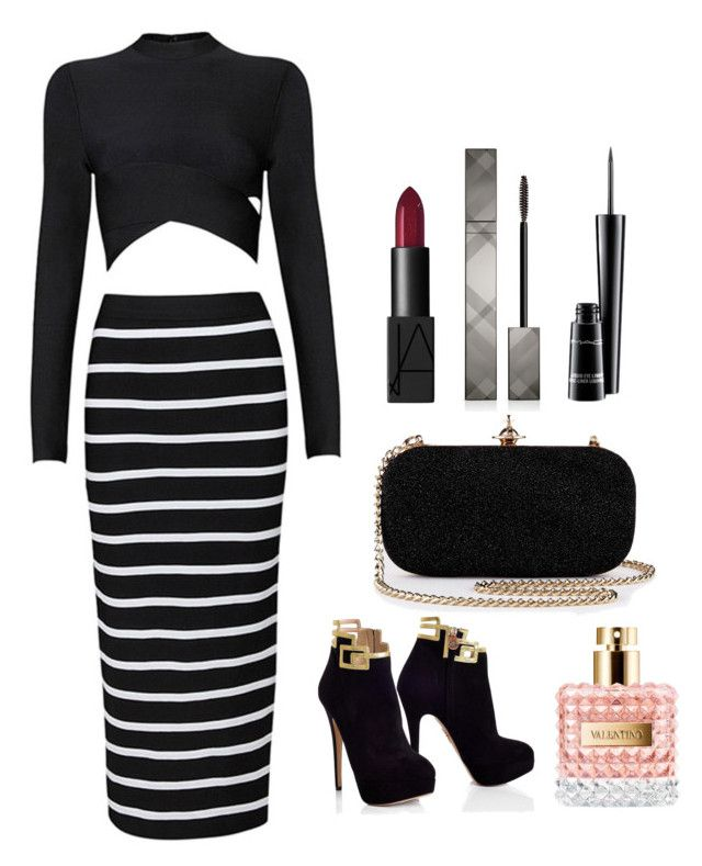 """Need Class?"" by montaniwangsa ❤ liked on Polyvore featuring NARS Cosmetics, Burberry and MAC Cosmetics"